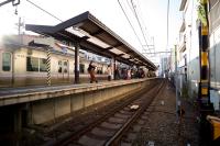 LEICA M(Typ262) + VOIGTLANDER COLOR-SKOPAR Vintage Line 21mm F3.5 Aspherical Hamadayama Station , Tokyo - 2019/01/30
